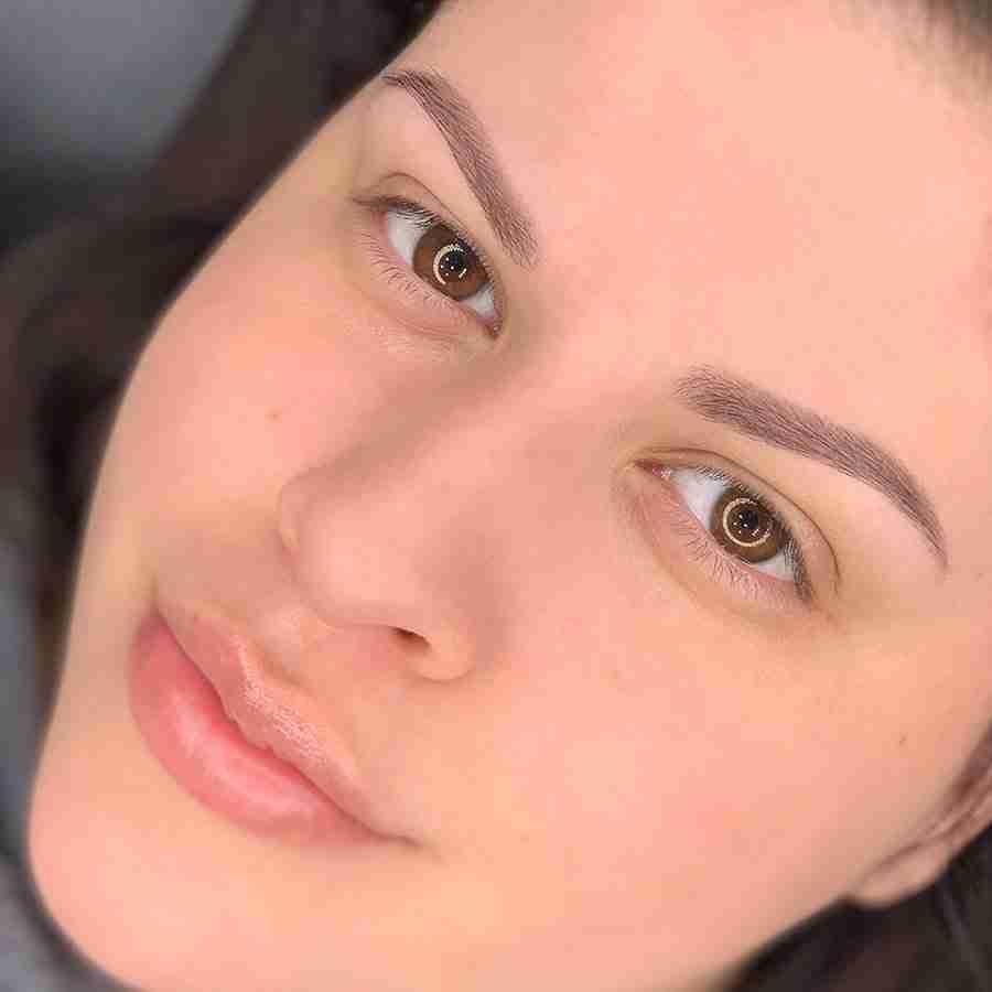 eyebrows tattoo