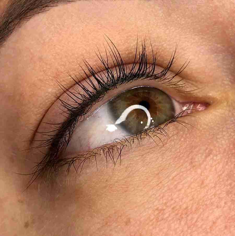 eyelash enhancement tattoo