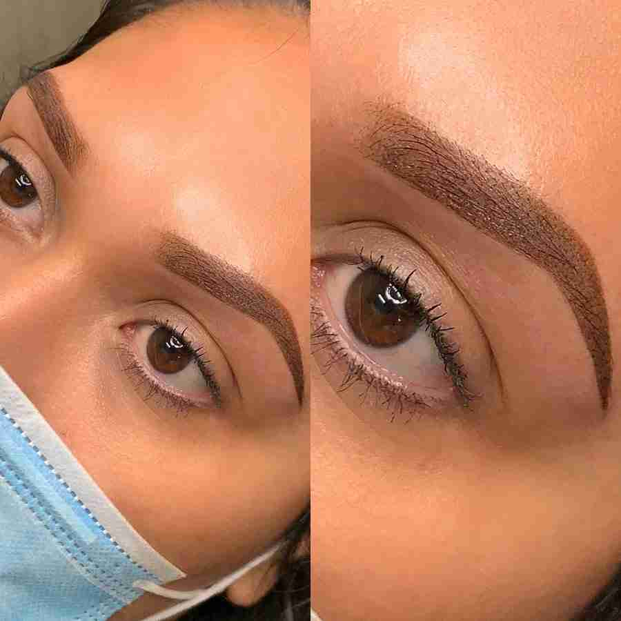 ombre brows permenent eyebrows