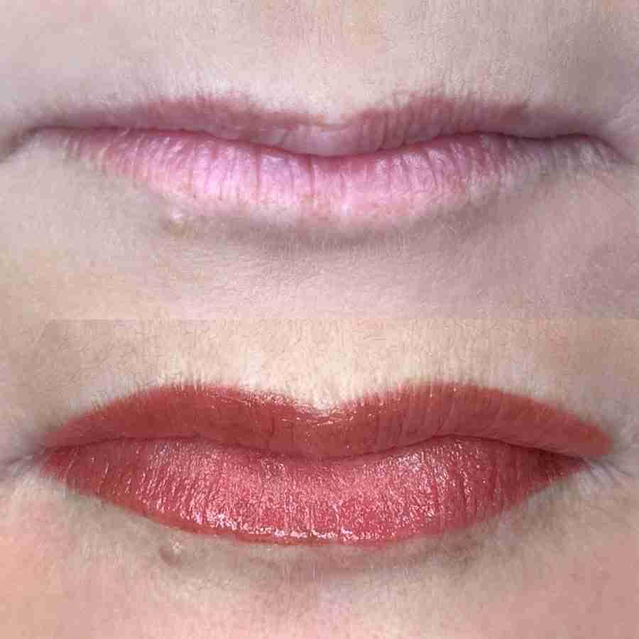 permanent lipstick tattoo