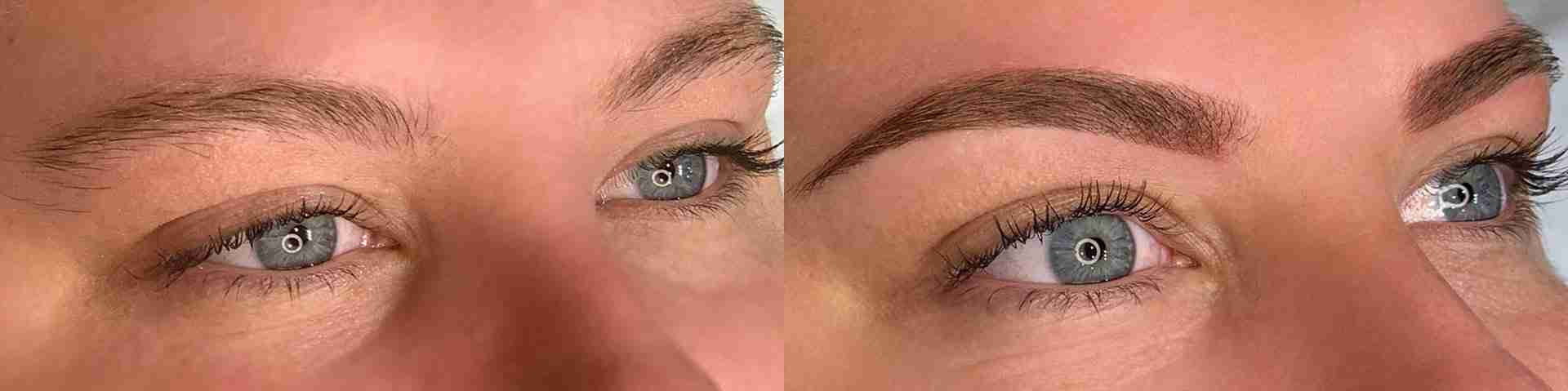 difference between microblading and powder brows permanent makeup